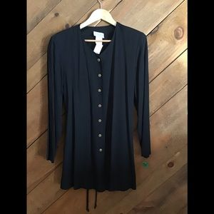 Tops - NWT Black Maternity Tops long sleeve size 10